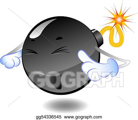 vector art bomb series of cartoon bombs clipart drawing rh gograph com bomb clipart vector boom clip art