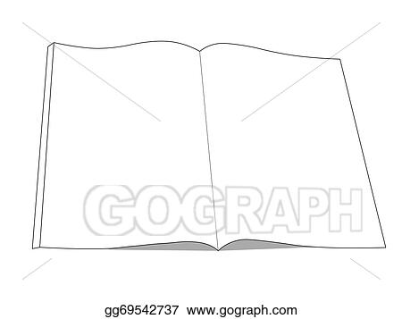 Stock Photos - book drawing icon open book with isolated on