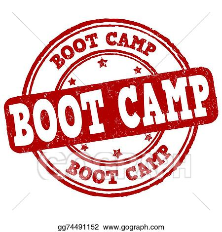vector art boot camp stamp clipart drawing gg74491152 gograph rh gograph com boot camp clip art images bible boot camp clip art