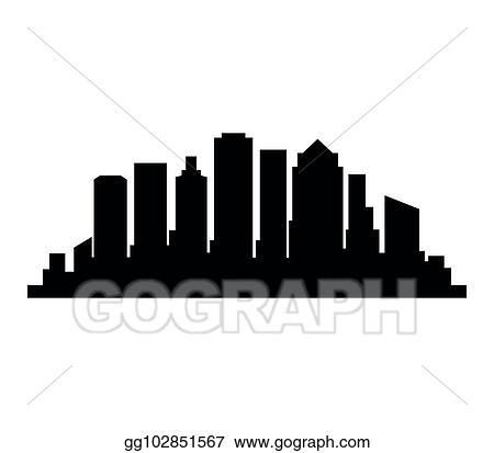 vector clipart boston skyline vector illustration gg102851567 rh gograph com Boston Skyline Cartoon Boston Skyline Silhouette