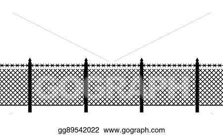 Fine Barbed Wire Border Artwork Ornament - Schematic Diagram Series ...