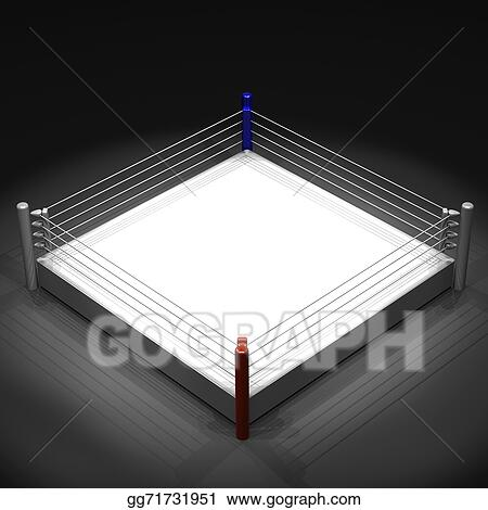 Drawing boxing ring clipart drawing gg71731951 gograph boxing ring ccuart Images
