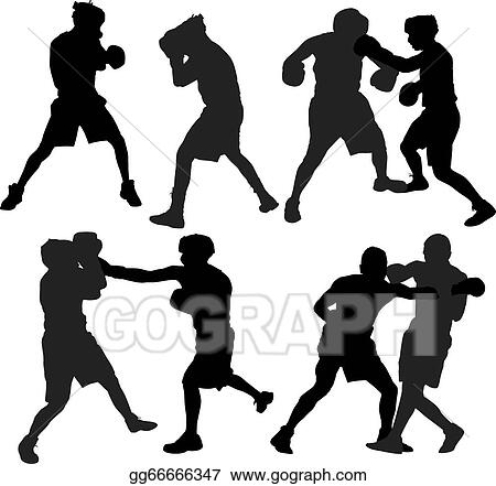 Eps Vector Boxing Sport Stock Clipart Illustration Gg66666347