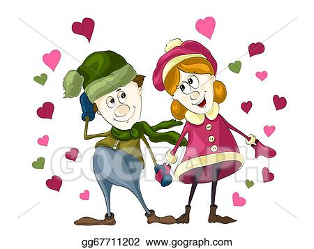 Drawing Boy And Girl In Love Clipart Drawing Gg67711202
