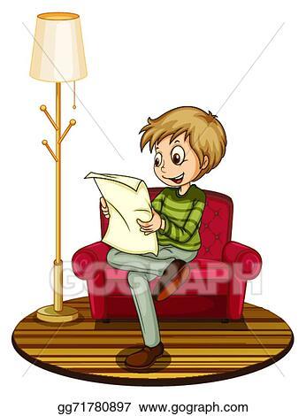 Newspaper Boy Clip Art - Royalty Free - GoGraph