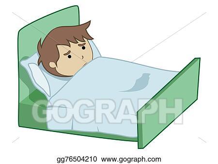 Stock Illustration Boy Sick Clipart Illustrations Gg76504210