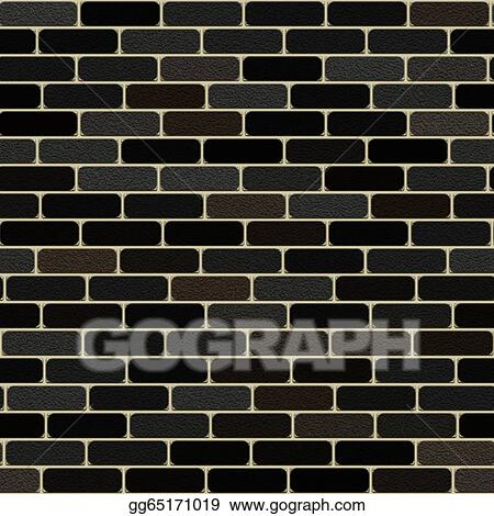 seamless black wall texture. Picture - Seamless Computer Generated High Quality Brick Wall Texture Background. Stock Photos Gg65171019 Black