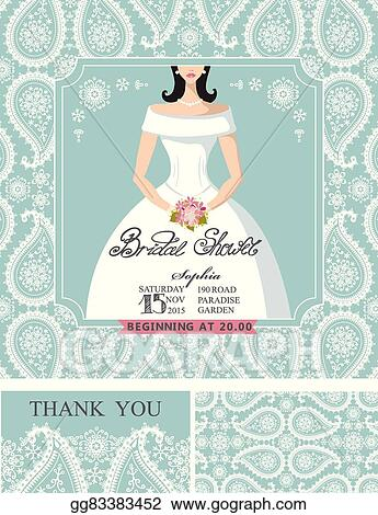 bridal shower invitationsbridewinter wedding pattern
