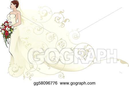 Drawings of Beautiful Wedding Dresses
