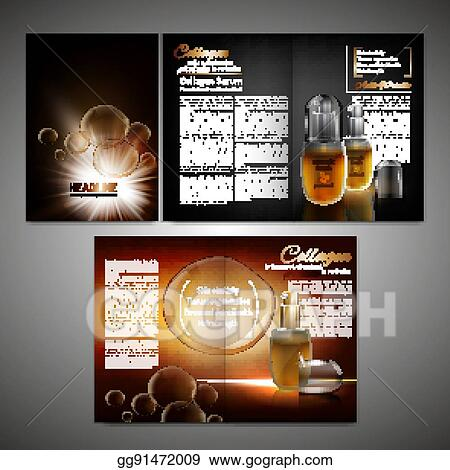 vector art brochure template image eps clipart gg91472009 gograph