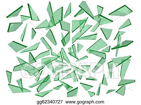 stock illustration broken glass clipart drawing gg62340727 gograph rh gograph com broken glass bottle clipart broken wine glass clipart