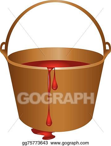 Bucket Of Red Paint Clip Art