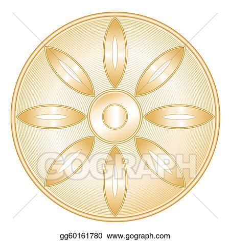Vector Illustration Buddhism Symbol Eps Clipart Gg60161780 Gograph