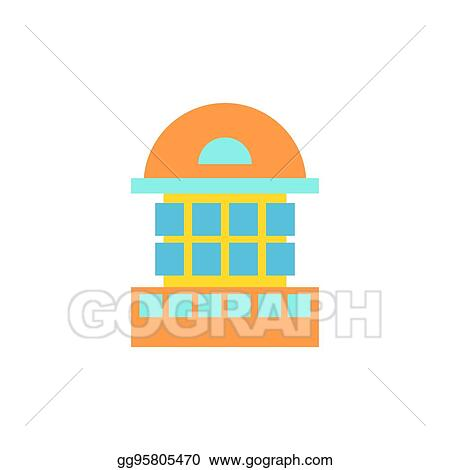 Vector Stock Building House And Architecture Object Business