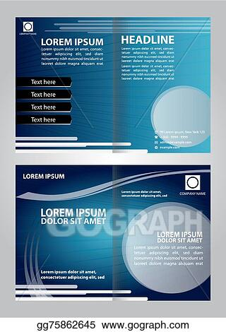 vector stock business brochure booklet template clipart