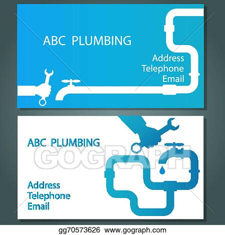Vector art business card for repair plumbing clipart drawing business card for repair plumbing colourmoves