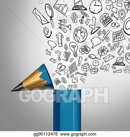 Stock Illustration Business Creative Imagination Clipart Drawing Gg90112478 Gograph,Best Mousetrap Car Designs For Distance And Speed