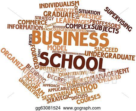 stock illustration business school clipart drawing gg63081524 rh gograph com No School Clip Art Company Clip Art