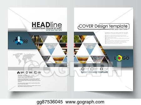 eps illustration business templates for brochure magazine flyer
