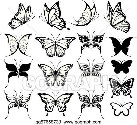 butterfly transparent Clip art transparent free butterfly clipart images  teal and purple png - Clipartix