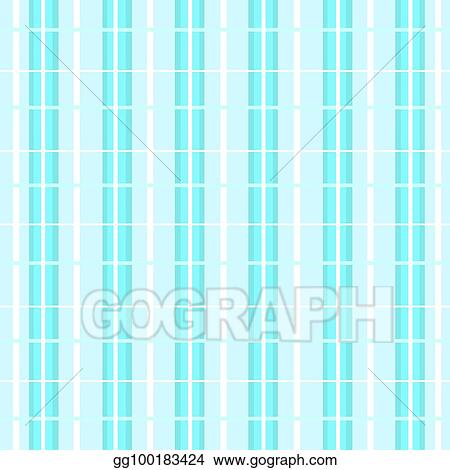 Cage In Striped Background Vector Light Blue And Dark Nuances