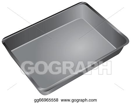 stock illustration cake pan clipart drawing gg66965558 gograph rh gograph com Fried Egg Clip Art Batter in Pan