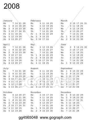 April 2008 Calendar