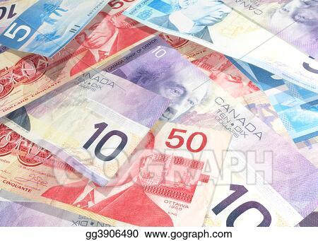 A Pile Of Canadian Money - Pile Of Canadian Money Clipart, HD Png Download  , Transparent Png Image - PNGitem