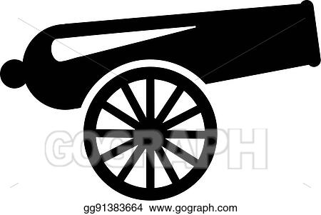 vector art cannon clipart drawing gg91383664 gograph rh gograph com clip art canning fair clipart cannolli