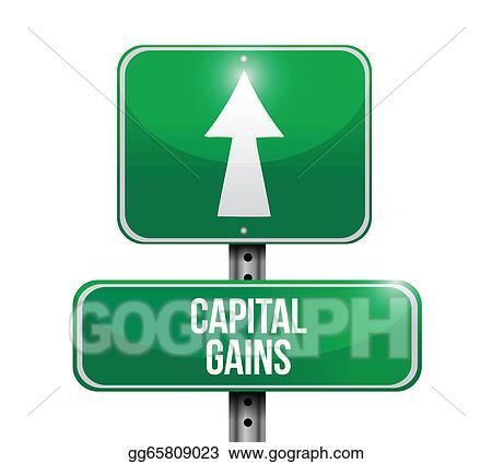 vector art capital gains road sign illustrations clipart drawing rh gograph com Mascot Clip Art Grunge Clip Art