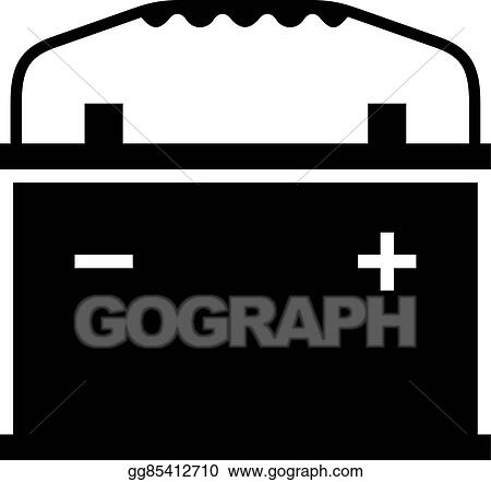 vector art car battery clipart drawing gg85412710 gograph https www gograph com clipart license summary gg85412710