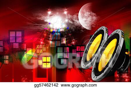 Stock Illustration Car Stereo Clipart Gg57462142 Gograph
