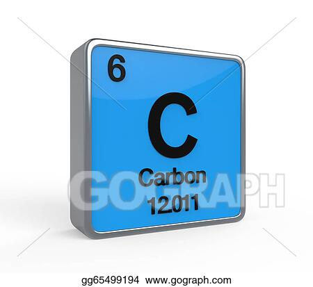 Clipart Carbon Element Periodic Table Stock Illustration