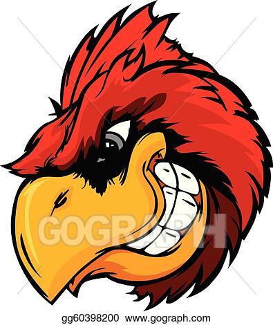 cardinal clip art royalty free gograph rh gograph com Free Cardinal Silhouette free clipart cardinal bird