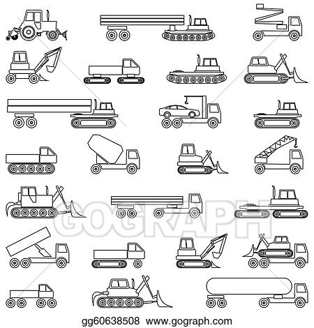 Vector Illustration Cars Vehicles Car Body Eps Clipart Gg60638508 Gograph