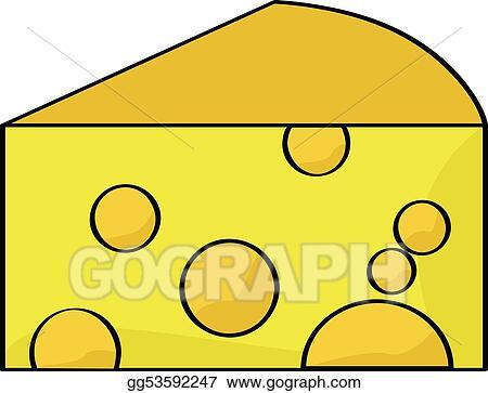 vector art cartoon cheese clipart drawing gg53592247 gograph rh gograph com cheese clip art black and white cheese clip art free