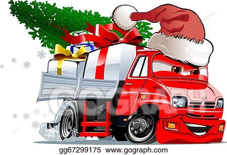 Vector Art Cartoon Christmas Truck Clipart Drawing Gg67299175 Gograph .max (autodesk 3ds max) texture format: https www gograph com clipart license summary gg67299175