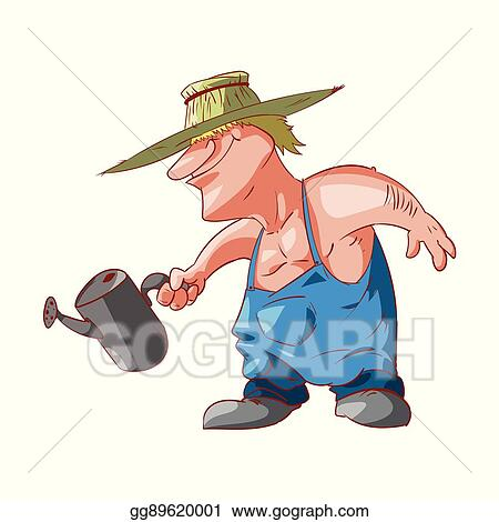 vector stock cartoon farmer or redneck stock clip art gg89620001 rh gograph com redneck clip art free