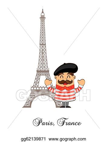 Vector Stock Cartoon French Clipart Illustration Gg62139871 Gograph