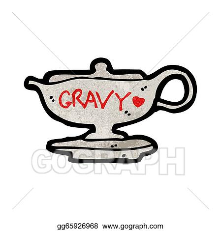 vector art cartoon gravy boat clipart drawing gg65926968 gograph rh gograph com grave clip art free turkey and gravy clipart