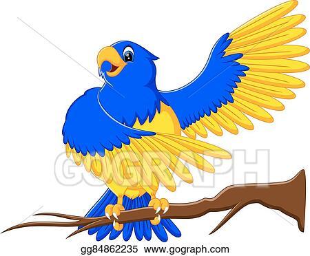 clip art vector cartoon macaw stock eps gg84862235 gograph rh gograph com blue macaw clipart blue macaw clipart