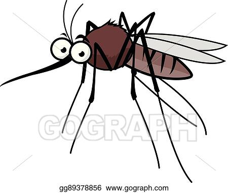 vector art cartoon mosquito clipart drawing gg89378856 gograph rh gograph com mosquito clipart black and white mosquito clipart