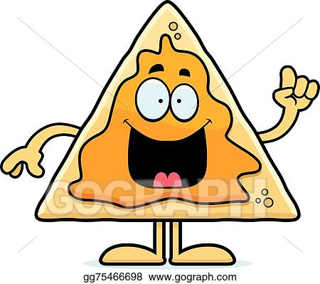 vector stock cartoon nachos idea clipart illustration gg75466698 rh gograph com eating nachos clipart eating nachos clipart