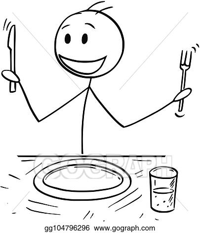 Food On A Stick Cartoon