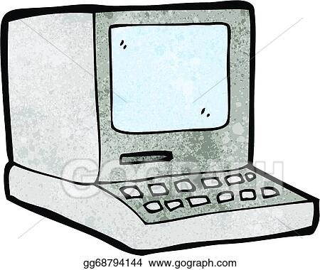 Old Computer Clip Art Royalty Free Gograph