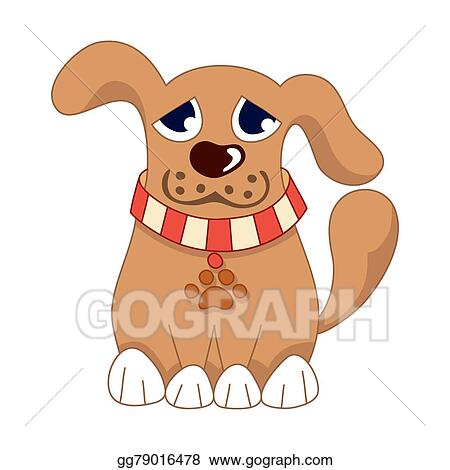 Vector Art Cartoon Puppy Vector Illustration Of Cute Dog Clipart