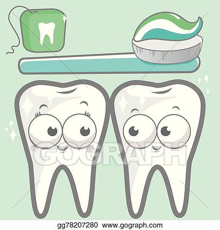 c301abd9d Vector Stock - Cartoon teeth