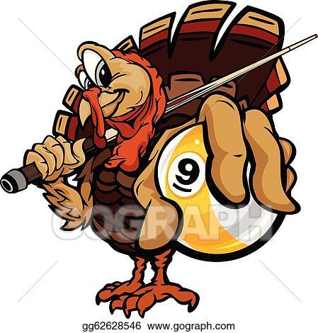 Vector Clipart Cartoon Vector Image Of A Thanksgiving