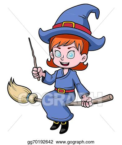 Dabbing Witch On Magic Broom Cartoon Vector Clipart - FriendlyStock |  Cartoons vector, Witch, Dabs