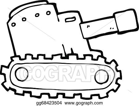Drawing Of Military Tank